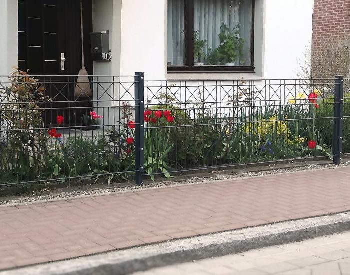 Berühmt Gartenzaun - Manga Tor und Zaunsysteme &MI_88